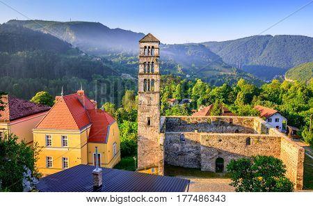 St Mary Church In Jajce, Bosnia And Herzegovina