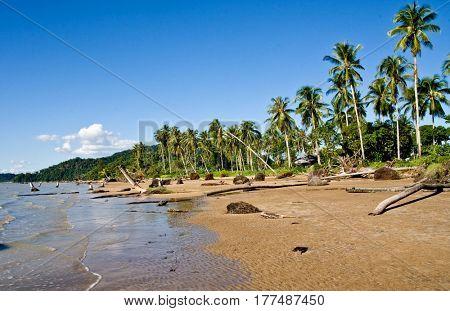 beach in sarawak