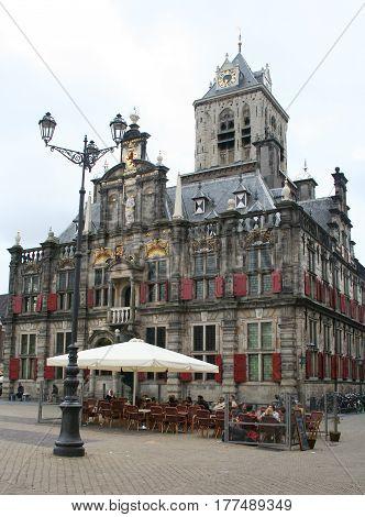 Delft,market Square