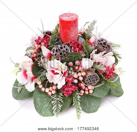 flower decoration for any holiday celebration and interior decoration
