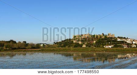 Castle And Village  Of Montemor O Velho, Beiras Region Portugal