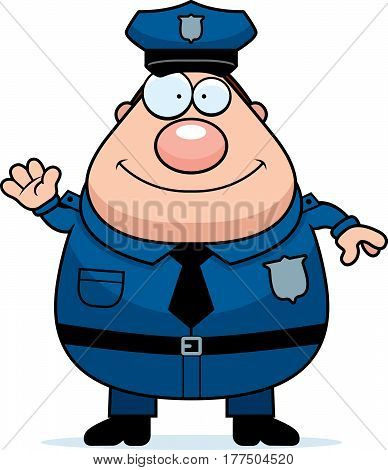 Waving Police