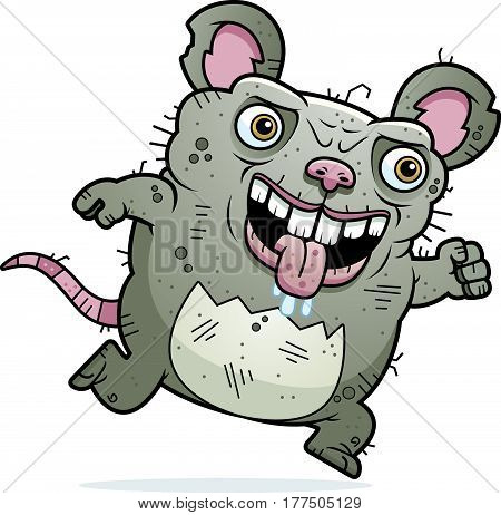 Ugly Rat Running
