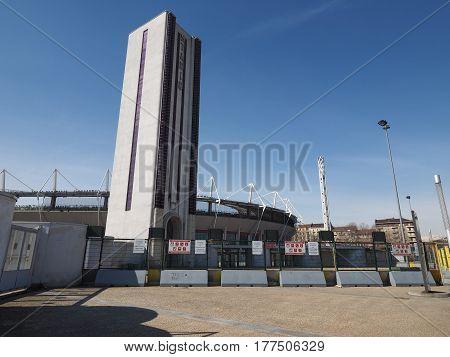 Stadio Comunale Stadium In Turin