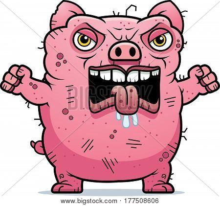 Angry Ugly Pig