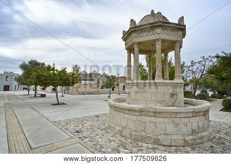 Geroskipou Square, Cyprus