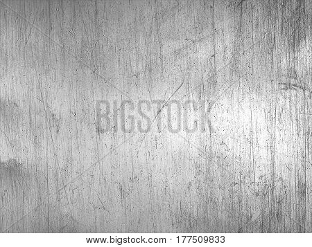 Worn Steel Texture Or Metallic Scratched Background