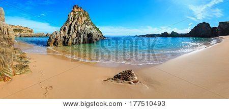 Mexota Beach Summer Panorama (spain).