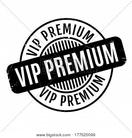 Vip Premium rubber stamp. Grunge design with dust scratches. Effects can be easily removed for a clean, crisp look. Color is easily changed.