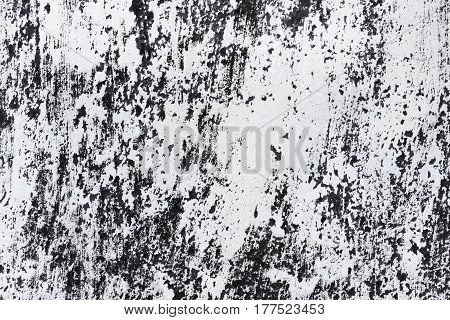 Background Of Roofing Of The Old Tar Paper Material On Outdoor Surface, Closeup