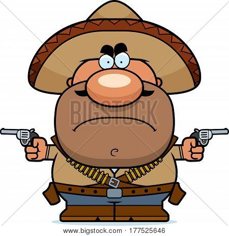 Angry Cartoon Bandito