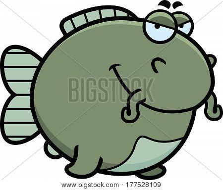 Sly Cartoon Catfish