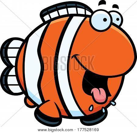 Hungry Cartoon Clownfish