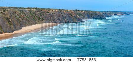 Atlantic Ocean Coast (algarve, Portugal).
