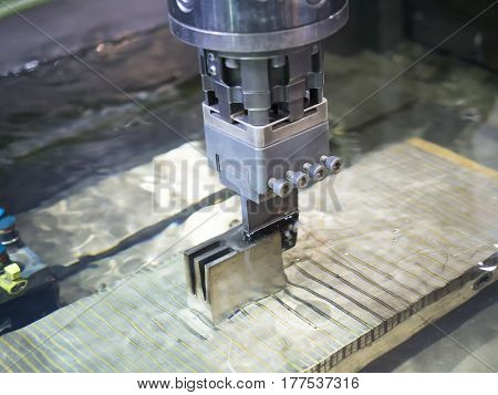 Operator Use  Edm Electrod To Make Precision Mold And Die