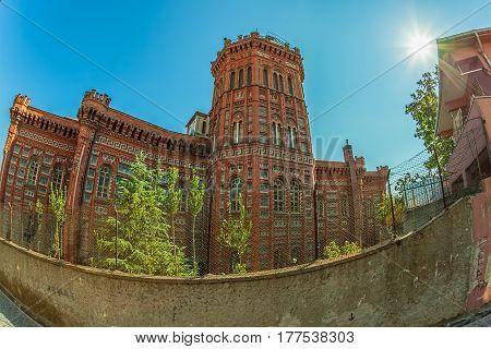 Phanar Greek Orthodox College or Great School of the Nation, district Phanar, Istanbul Turkey.