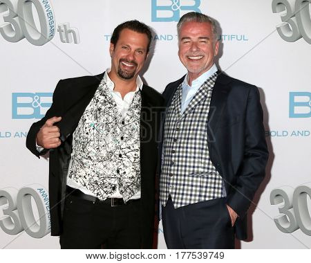 LOS ANGELES - MAR 19:  Paulo Benedetti, Ian Buchanan at the