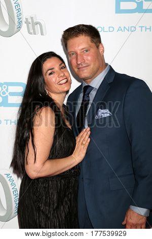 LOS ANGELES - MAR 19:  wife, Sean Kanan at the