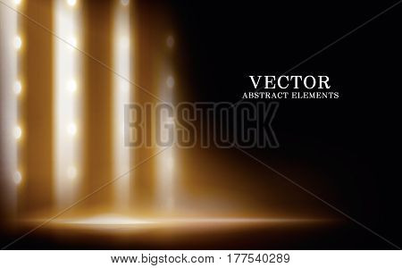 Lighted Stage Effect