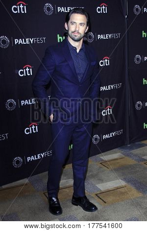 LOS ANGELES - MAR 18:  Milo Ventimiglia at the 34th Annual PaleyFest Los Angeles -