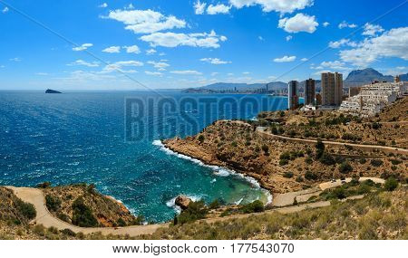 Benidorm City Coast View (spain).