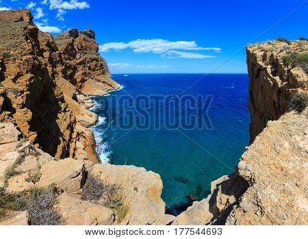 Summer Sea Coast Landscape (spain).