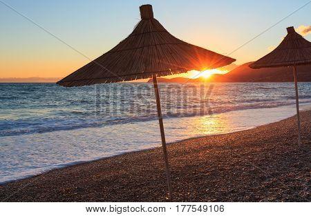 Summer Sunset Beach (albania).
