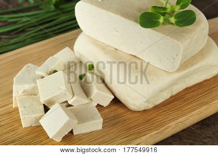 Soybeans and tofu are a good source of protein