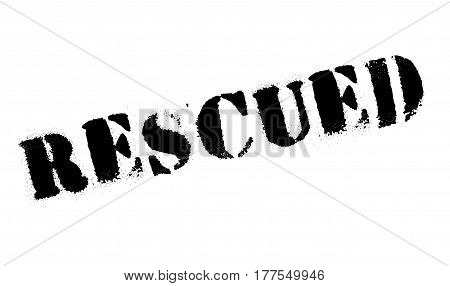Rescued rubber stamp. Grunge design with dust scratches. Effects can be easily removed for a clean, crisp look. Color is easily changed.