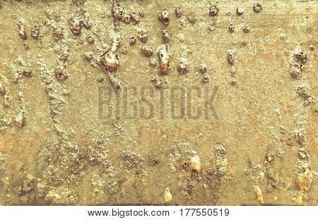 Old rusty metal surface Close up industrial background