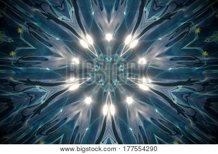 Abstract Water Mandala
