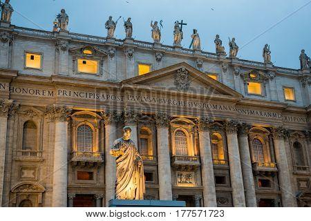 St Peter Exterior