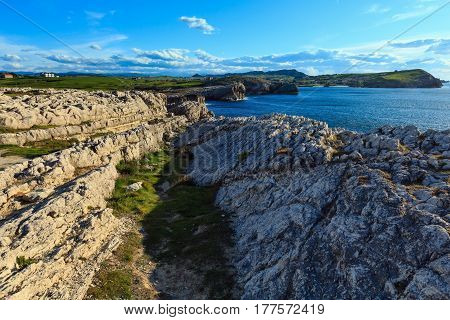 Cantabria Coastline Landscape.