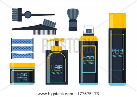 Gel foam or liquid soap dispenser pump plastic hair shampoo bottle design and healthy hygiene scented treatment lotion cream vector illustration. Packaging blank cosmetic sign.