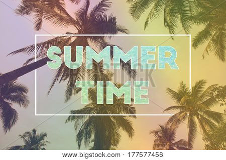 Hello Summer time party for background. can used for poster with cover page presentation and web banner.