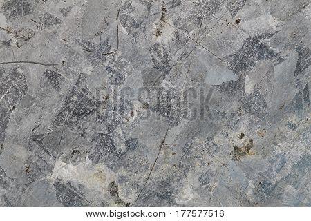 Zinc Metal Plate Texture