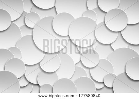 Abstract Seamless Paper circle banner with drop shadows Background. Element design for backgroundbackdrop and decoration element use.