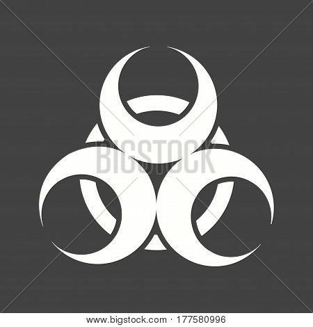 Epidemic, hazard, sign icon vector image. Can also be used for disasters. Suitable for mobile apps, web apps and print media.