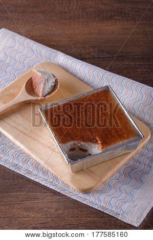 Mung Bean Thai Custard Dessert Recipe (khanom Maw Kaeng)