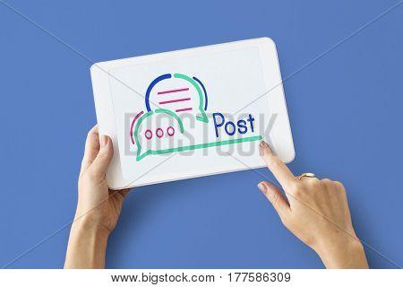Message Post Digital Device Technology