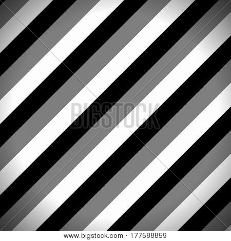 Striped Pattern with Black, Dark Grey and White Stripes. Abstract Wallpaper Background,