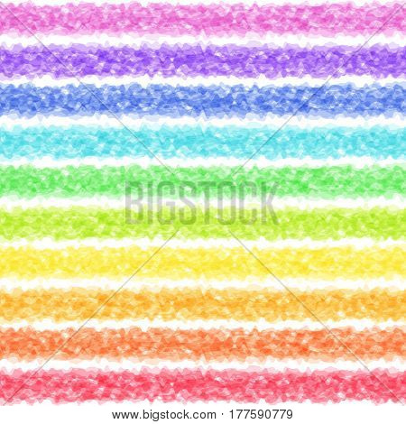 Colorful Iridescent Smooth Lines on White Backdrop. Abstract Rainbow Texture. Creative Style.