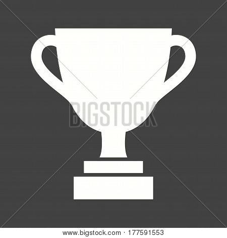 Trophy, olympic, champion icon vector image. Can also be used for olympics. Suitable for mobile apps, web apps and print media.