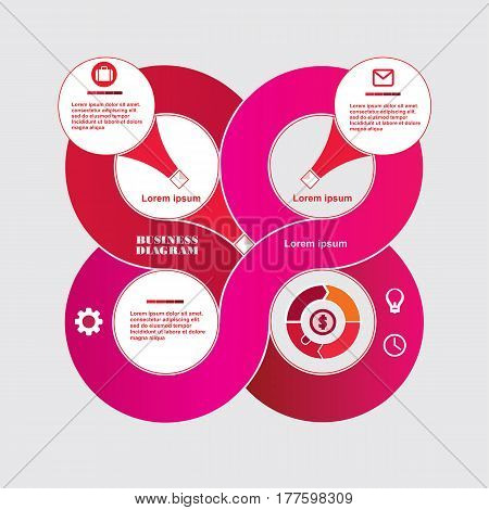 Business Diagram Circle