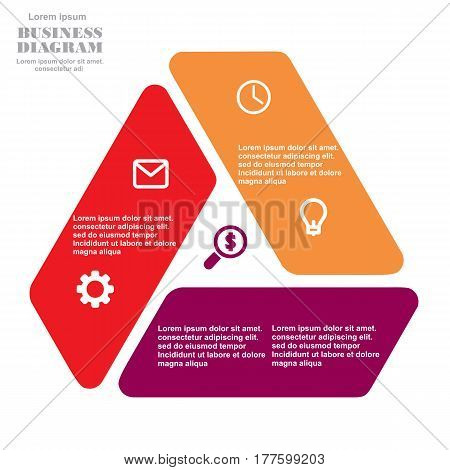 Business Diagram Triangle