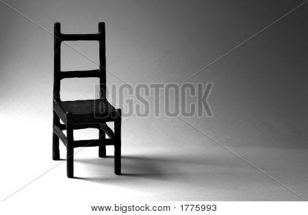 Empty Metal Chair