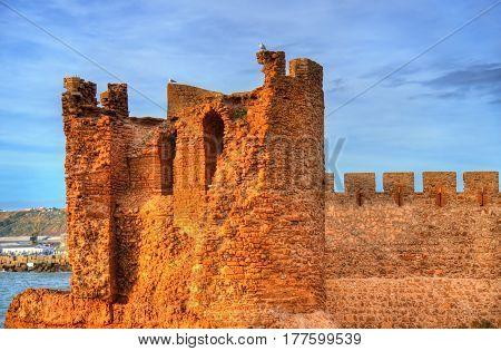 Dar-el-Bahar fortress on the atlantic coast of Safi - Morocco
