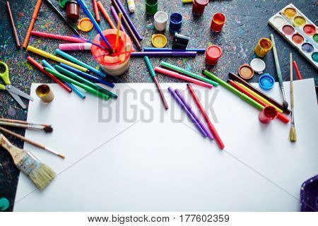 Group of objects for creative pastime