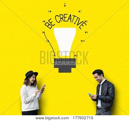 Be Creative Inspiration Imagination Concept