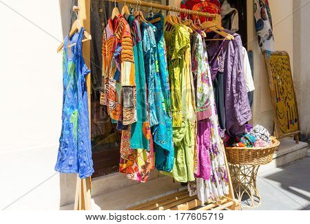Women's Clothes At Shop